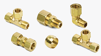 Brass Compression Fittings, Brass Pipe Joint Fittings, Brass Hose Fittings