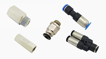 Check Valve Fittings, One Way Pneumatic Fittings