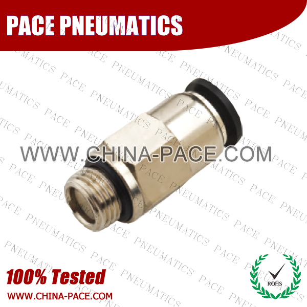 G Thread Male Straight Check Valve, Push To Connect Check Valve, One Way Check Valve