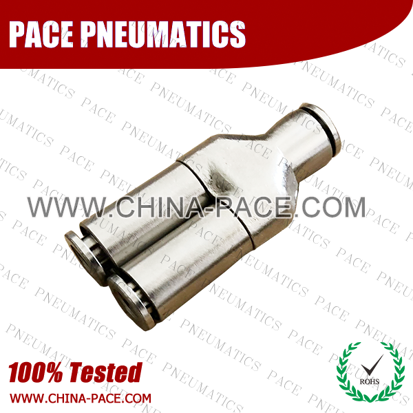Brass Union Y Check Valve, Push To Connect Check Valve, One Way Check Valve