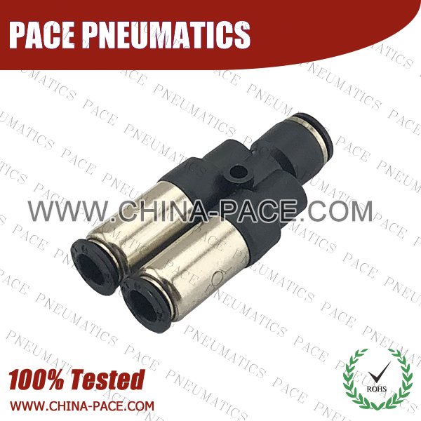 Union Y Check Valve, Push To Connect Check Valve, One Way Check Valve