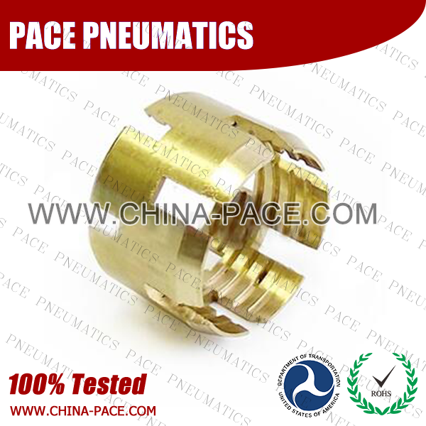 Sleeve, Air Brake DOT Compression Fittings For Rubber Hose, DOT Air brake Hose ends,  D.O.T. AIR BRAKE REUSABLE FITTINGS, DOT Brass Fittings, Air Brake Fittings for Rubber Tubing, Pneumatic Fittings, Brass Air Fittings