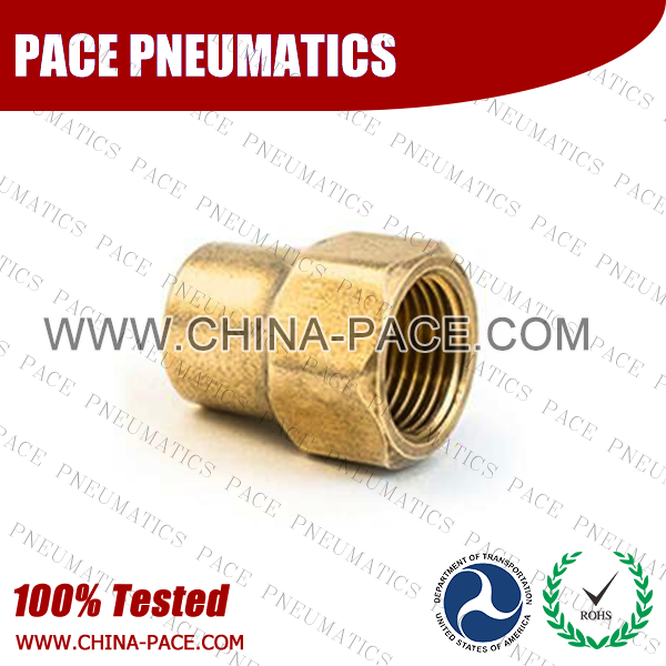 PMPSE,Pneumatic Fittings, Air Fittings, one touch tube fittings, Nickel Plated Brass Push in Fittings