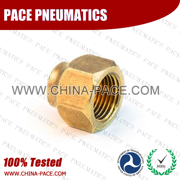 PMPCF,Pneumatic Fittings, Air Fittings, one touch tube fittings, Nickel Plated Brass Push in Fittings