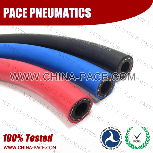 air brake rubber hose, SAE J1402 air brake rubber hose, DOT air brake rubber hose