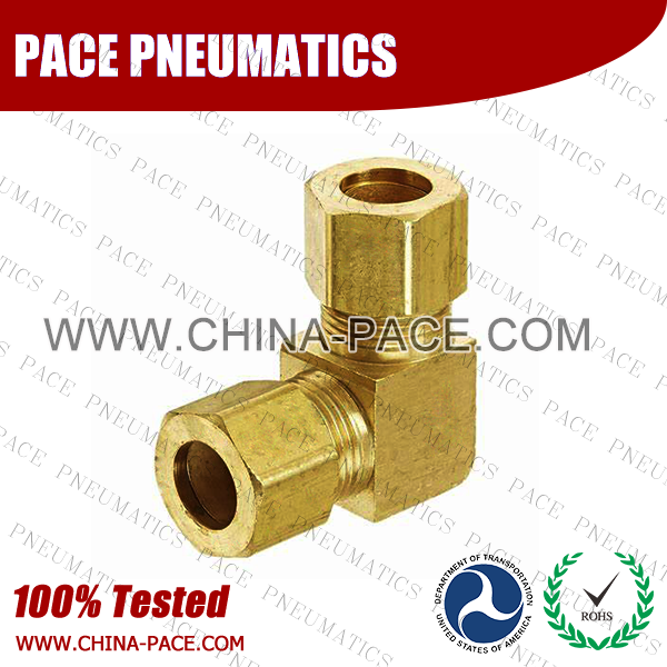 Barstock Union Elbow Brass Compression Fittings, Air compression Fittings, Brass Compression Fittings, Brass pipe joint Fittings