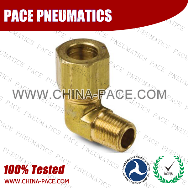 Forged 90°Male Elbow Brass Compression Fittings, Air compression Fittings, Brass Compression Fittings, Brass pipe joint Fittings, Pneumatic Fittings, Air Fittings, Pneumatic connectors, Air Connectors, pneumatic Components