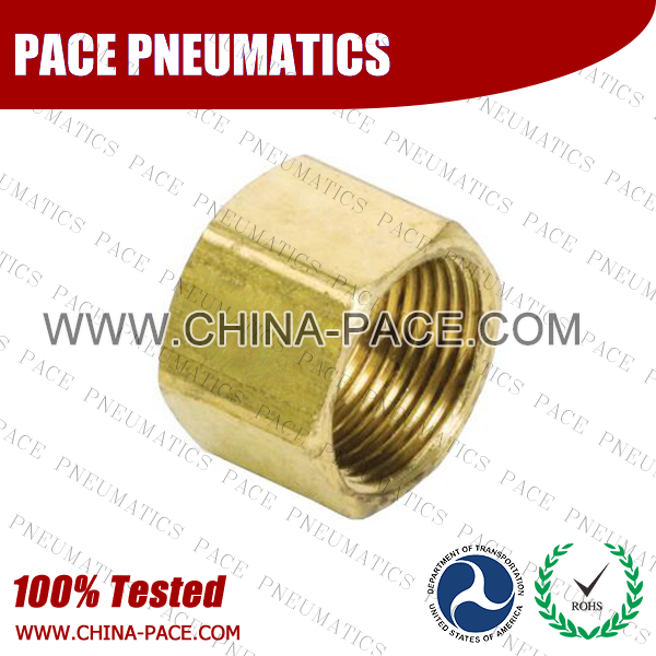 Nut Brass Compression Fittings, Air compression Fittings, Brass Compression Fittings, Brass pipe joint Fittings