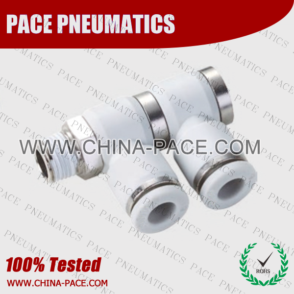 Double Male Elbow Grey Color Pneumatic Fittings, White Push To Connect Fittings, Air Fittings, white color push in fittings, Push In Air Fittings, Composite Push In Fittings, Polymer push to connect Fittings, Air Flow Speed Control valve, Hand Valve, pneumatic component